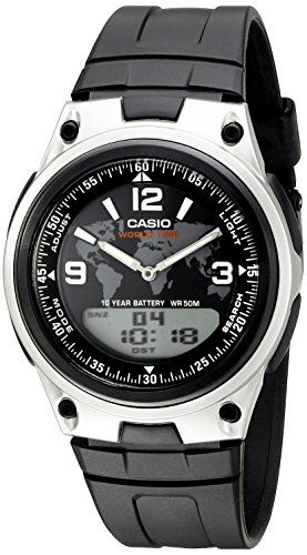 Take a Look:  Casio Mens AW 80 1A2VCF Databank AnalogDigital Display Quartz Black Watch