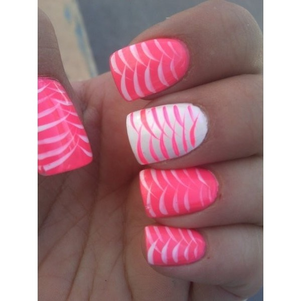 Pretty Nail Swag ❤ liked on Polyvore
