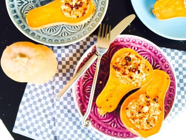 Gourmelita: Κολοκύθες Φούρνου Γεμιστές