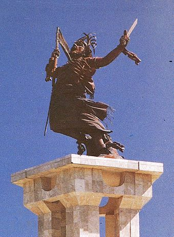 The integration monument in Dili was donated by the Indonesian government to represent emancipation from colonialism