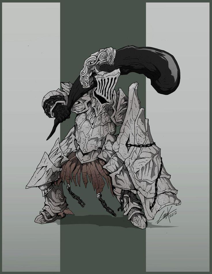 Dark Souls- Havel the Rock by KrumpZero.deviantart.com on @deviantART