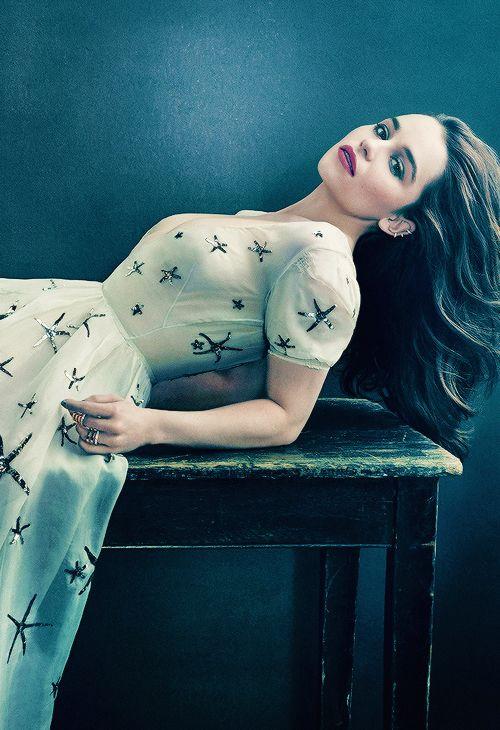Emilia Clarke, absolutely gorgeous