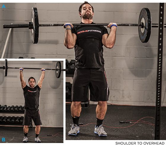 Train With The Worlds Fittest Man: Rich Froning CrossFit Workout! - SHOULDER PRESS - Bodybuilding.com