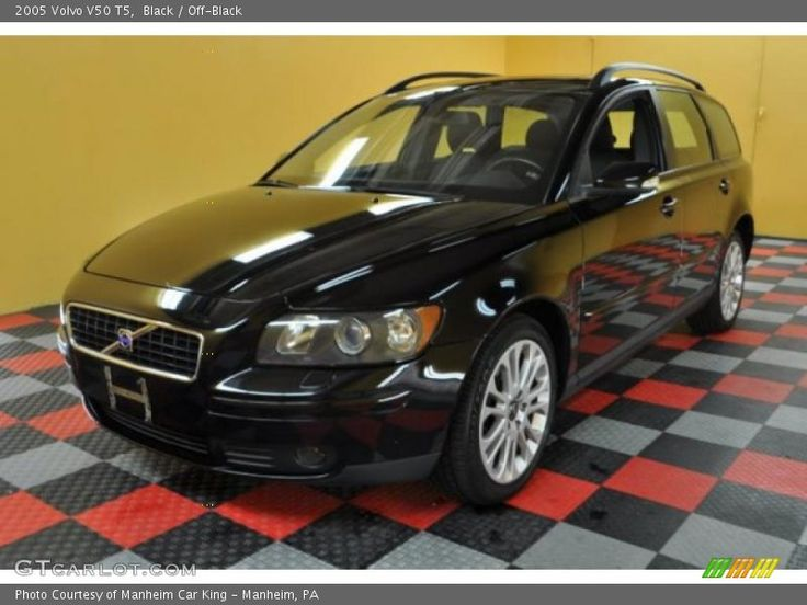 Black / Off-Black 2005 Volvo V50 T5