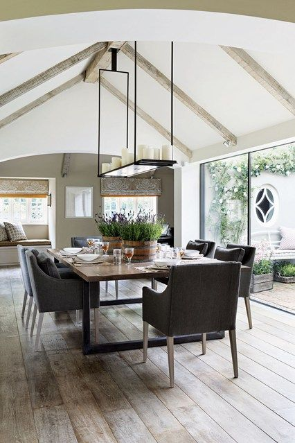 Open-Plan Kitchen & Dining Room - Conservatory Designs & Ideas (houseandgarden.co.uk)