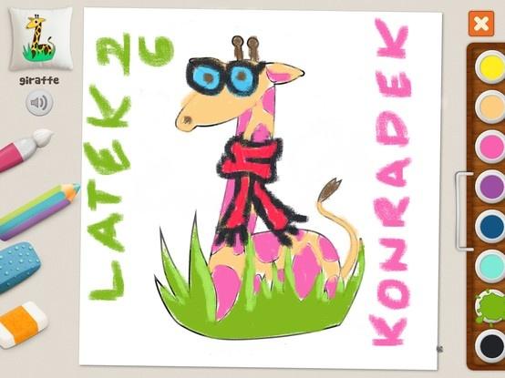 """""""Giraffe"""" - Konradek (age 26)"""