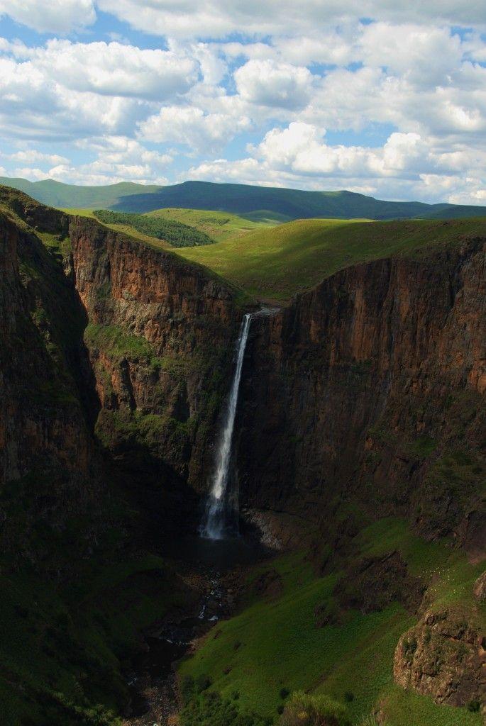 Maletsunyane Falls near Semonkong, Lesotho