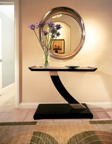 13 Entrance table ideas - In the hallway one of the inevitable elements is the table that we use every day and therefore should be carefully selected.
