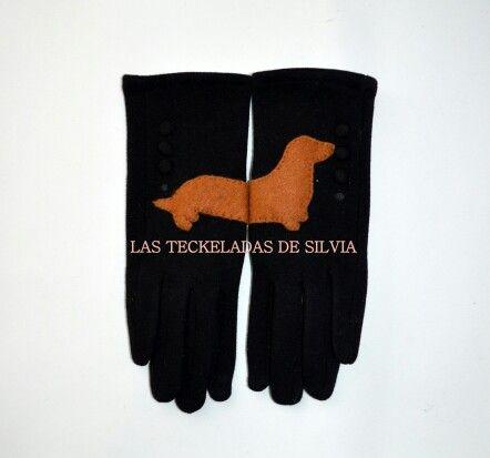 Guantes dachshund