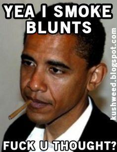 Obama Smokes Blunts Weed Memes
