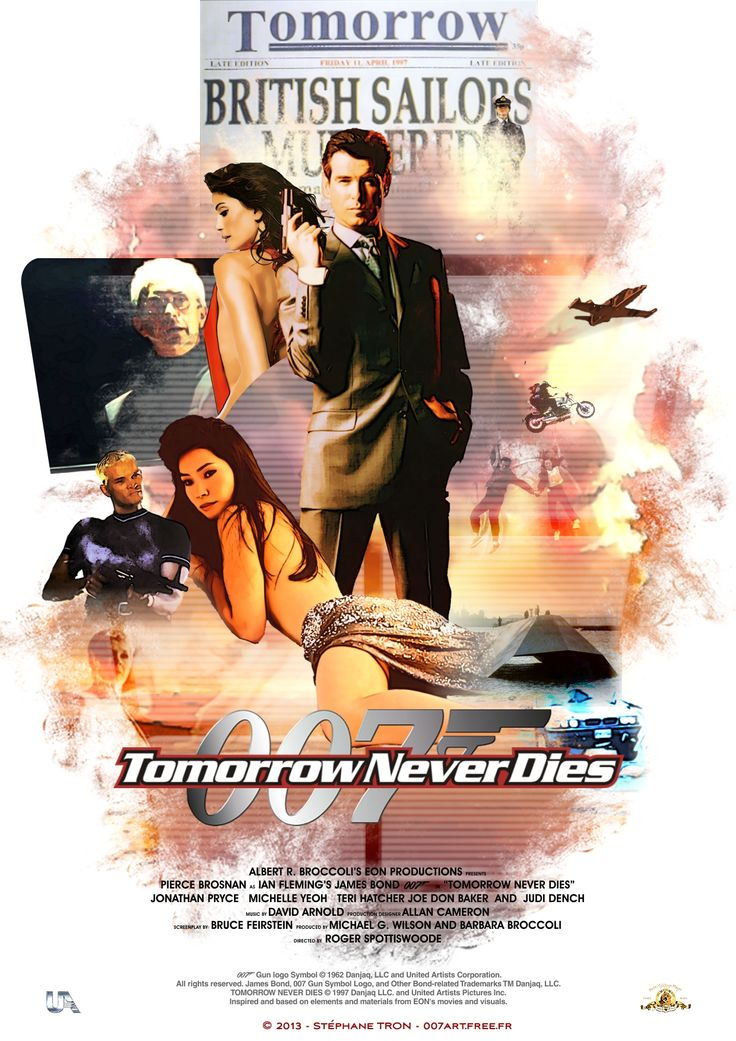 80 best images about Tomorrow Never Dies on Pinterest ...