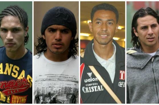 Asi lucian los cracks del futbol peruano hace 10 años. January 13, 2016.