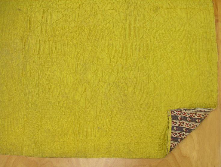 Quilted petticoat, ca. 1760; Winterthur, 1959.0118.0004