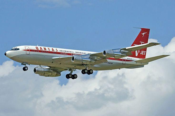 Quantas - Boeing 707