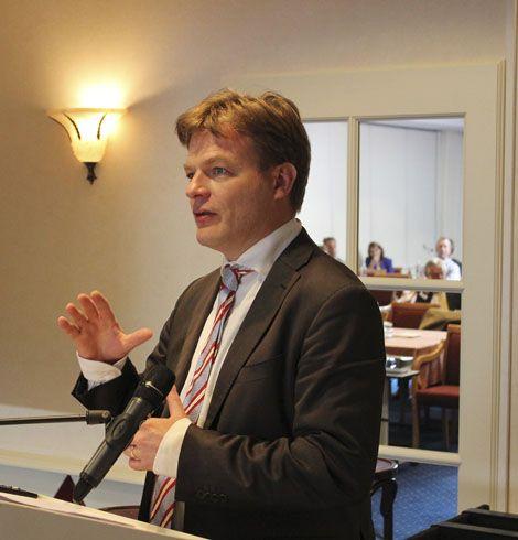 Pieter Omtzigt, lid van de Tweede Kamer namens het CDA, had tijdens de Algemene Ledenvergadering een overtuigend betoog hoe politiek Den Haag te bewerken.