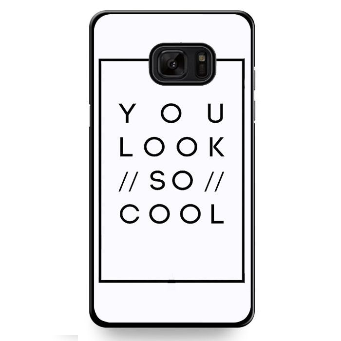 The 1975 You Look So Cool TATUM-10606 Samsung Phonecase Cover For Samsung Galaxy Note 7
