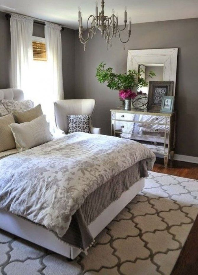 Master Bedroom Paint Color Ideas Day 1 Gray Small Homedecor Homedecor In 2020 French Bedroom Decor Small Master Bedroom Decorating Ideas Bedroom Decor Design