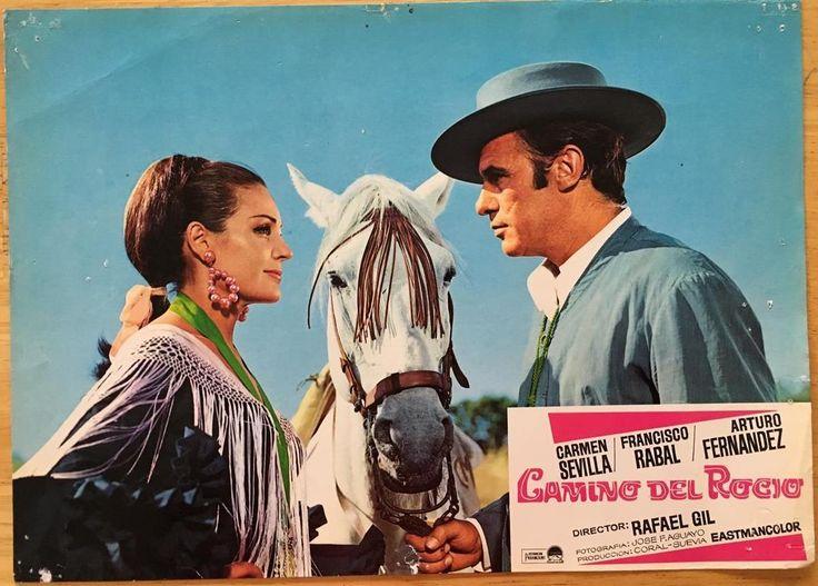 Carmen Sevilla Francisco Rabal Camino Del Rocío 1966 Lobby Card 329 | eBay