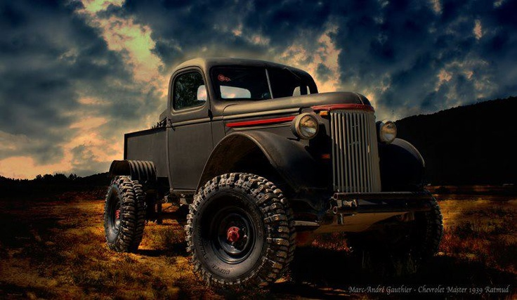 1939 Chevy Mud Rat