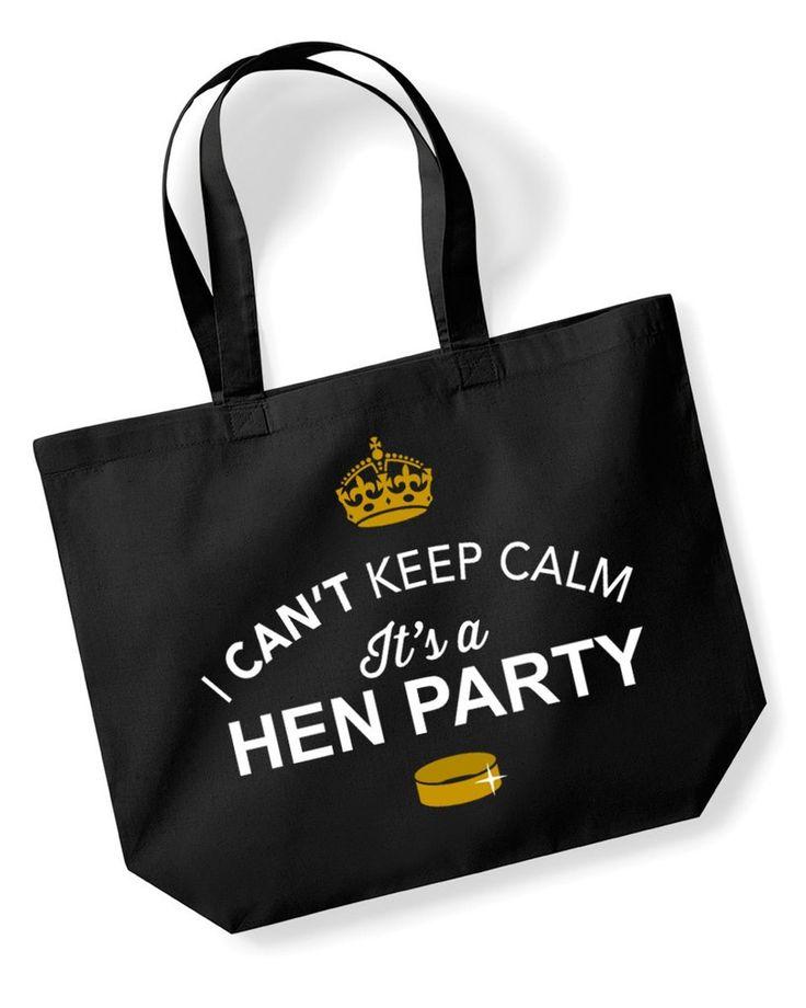 It's a Hen Party, Hen Party, Bachelorette Party, Hen Party Bag, Hen Party gifts, Hen Do Gifts, Ideas For a Hen Party, Hen Party present, Shopping Bag, Hen Party Bag, Tote Bag, Hen Party Gift Bag, Hen Party keepsake, Team Bride