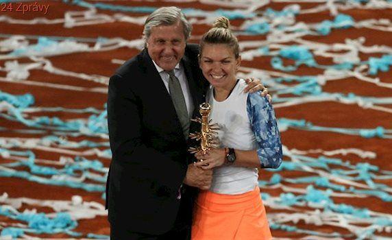 Nastase navzdory vyšetřování ITF předával trofeje v Madridu