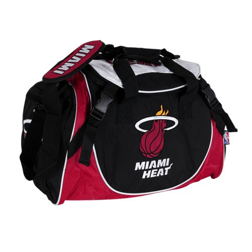 NBA HEAT DUFFLE BAG now available at Foot Locker