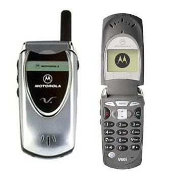 To this day, I still think the Motorola V60 is one of the nicest phones ever made.  Very sharp and fit with the ad campaign they did around it.