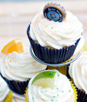 Dad-Friendly Dessert: Blue Moon and Corona Cupcakes