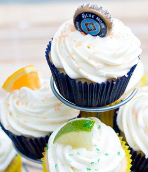 Dad-Friendly Dessert: Blue Moon and Corona Cupcakes