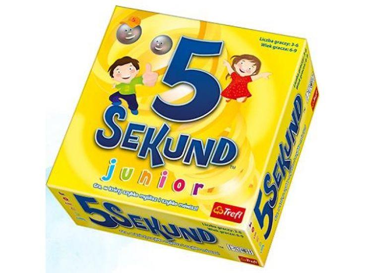 Trefl 5 sekund junior - Gry dla małych dzieci - Sklep internetowy - satysfakcja.pl
