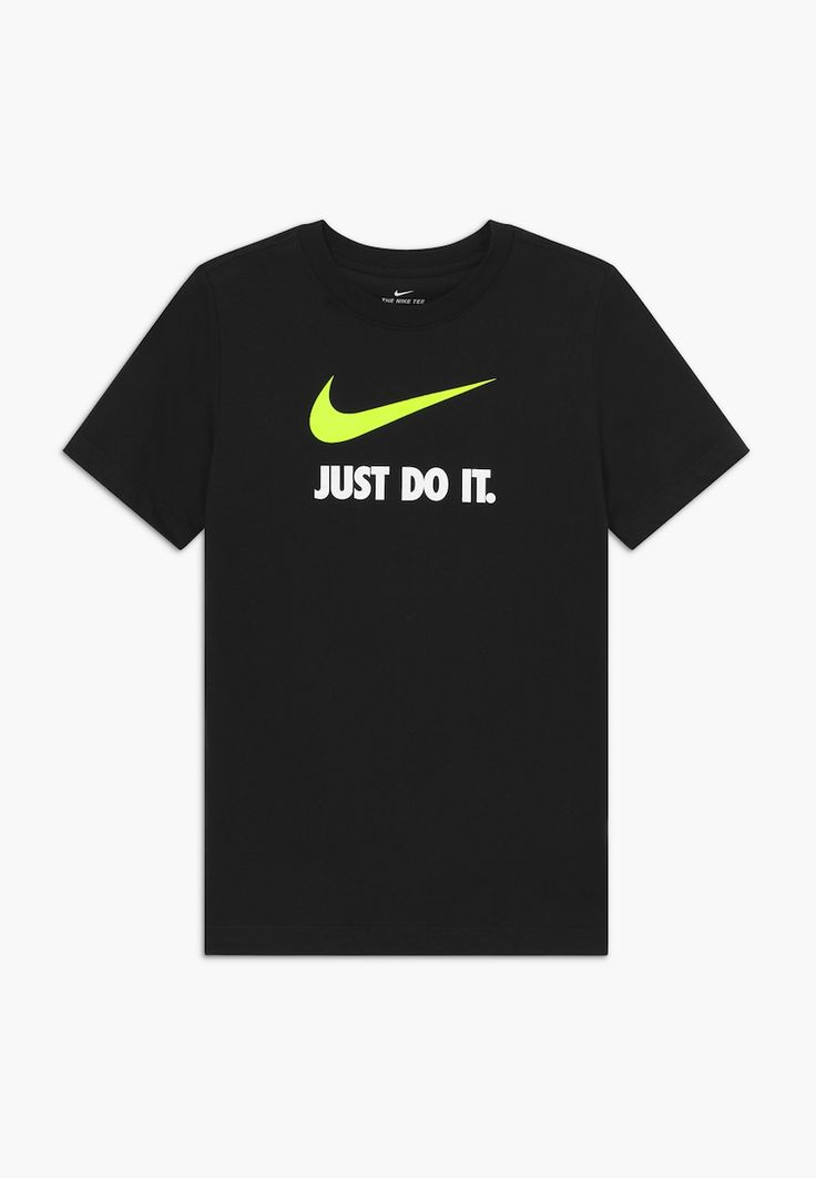 nike sportswear tee jdi t shirt print black zalando de shirt