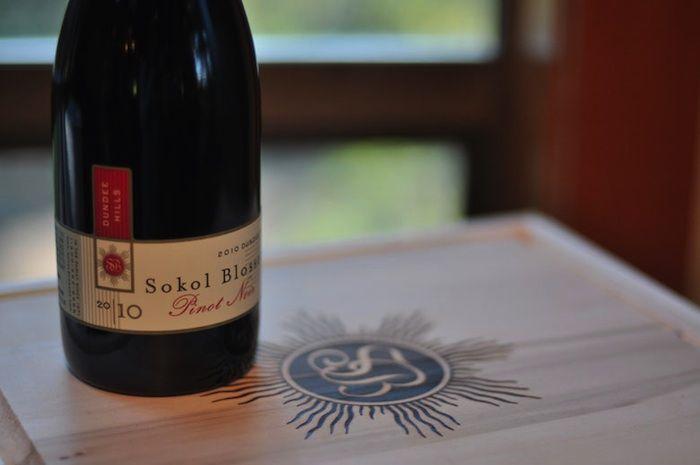 Sokol Blosser 2010 Dundee Hills Pinot Noir - so good; glad I'm a club member.