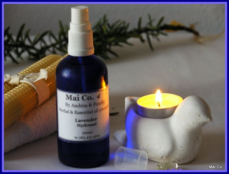 Mai Co.'s Lavender Hydrosol is a product of the distillation of the lavender essential oil. This water based healing spray has the same healing properties of the lavender essential oil, and is helpful when cleaning babies bums to prevent infection and diaper rash. A delicate addition to bath water to help baby relax before bed time. Lightly spray on the skin in cases of eczema and itchiness. Delicate, soft and gentle.