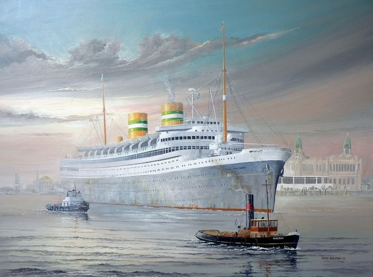 "art ocean liners | ... liner SS NIEUW AMSTERDAM. A ""queen"" of Art Deco design and style"