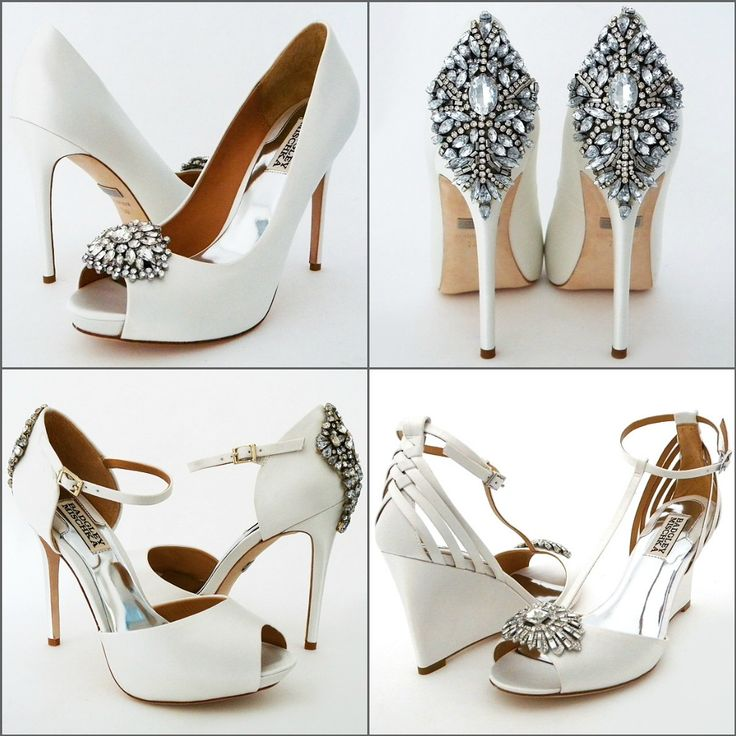 Badgley Mischka Wedding Shoes. Sparkle to strut down the aisle in your favorite shoe styles. https://perfectdetails.com/badgley-mischka-shoes.htm