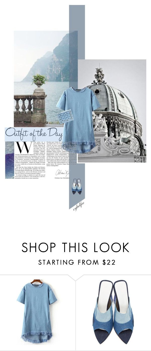 """""""Outfit of the day"""" by cybelfee ❤ liked on Polyvore featuring Petit Bateau, Amélie Pichard and Kenzo"""