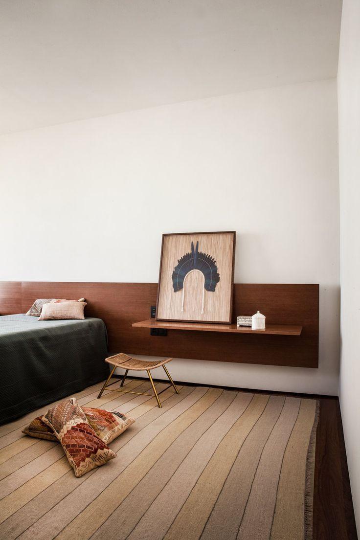 Contemporary Bedroom in Brazil by Studio MK27