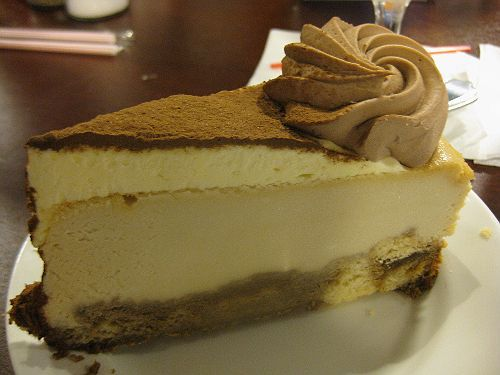 Cheesecake Factory Restaurant Copycat Recipes: Tiramisu Cheesecake
