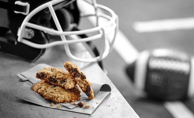 Biscuits à l'érable, à l'avoine et aux raisins