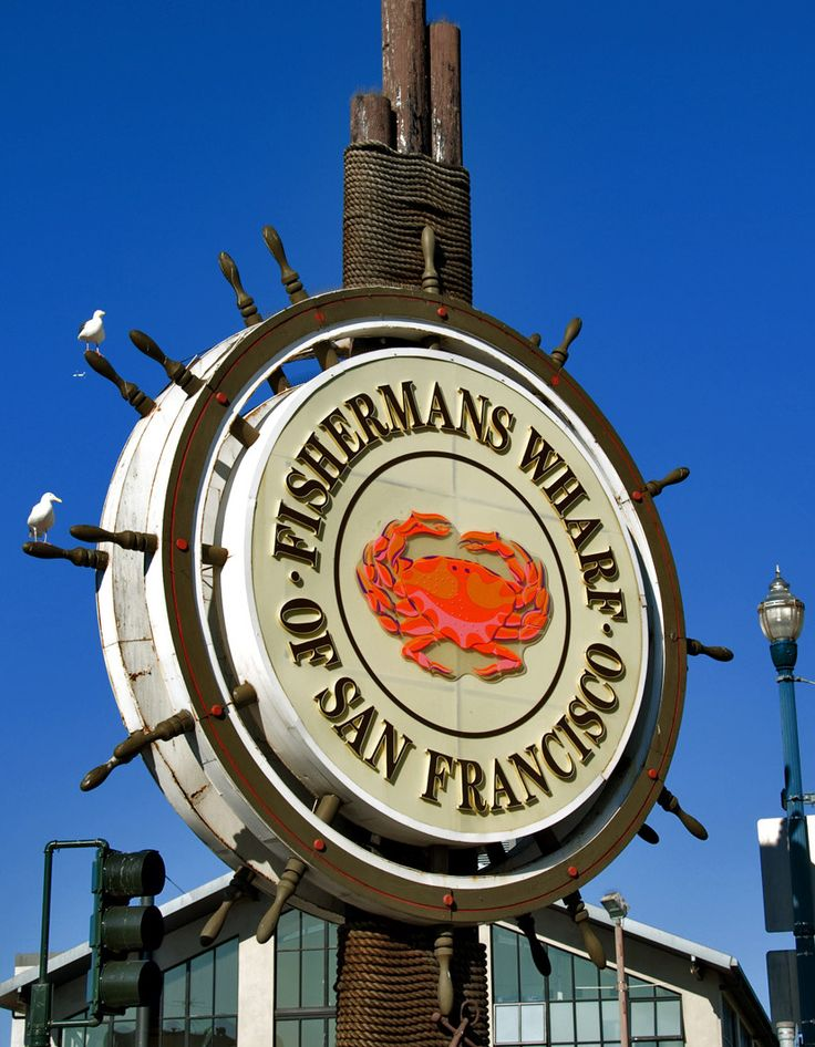 Fisherman's Wharf. San Francisco, California. Photo by Andy New.