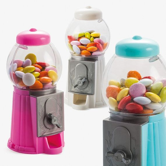 Mini Gumball Machine Party Favor Kids Party by CustomMadeJust4You