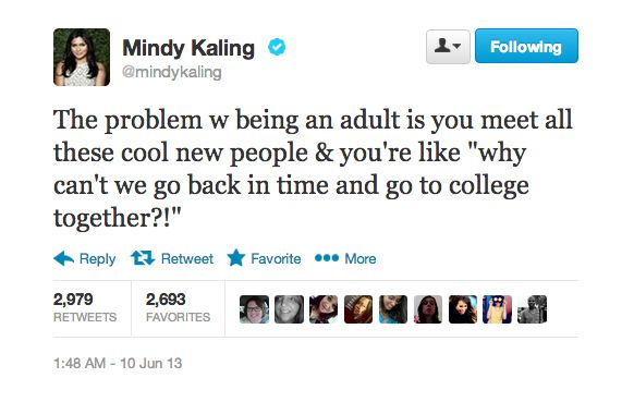 The 19 Most Relatable Tweets From Mindy Kaling - BuzzFeed