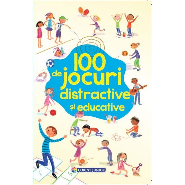 Corint 100 de jocuri distractive si educative