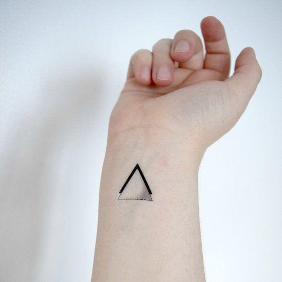 Triangle Tattoos Geometric Tattoos And: 17 Best Ideas About Geometric Triangle Tattoo On Pinterest