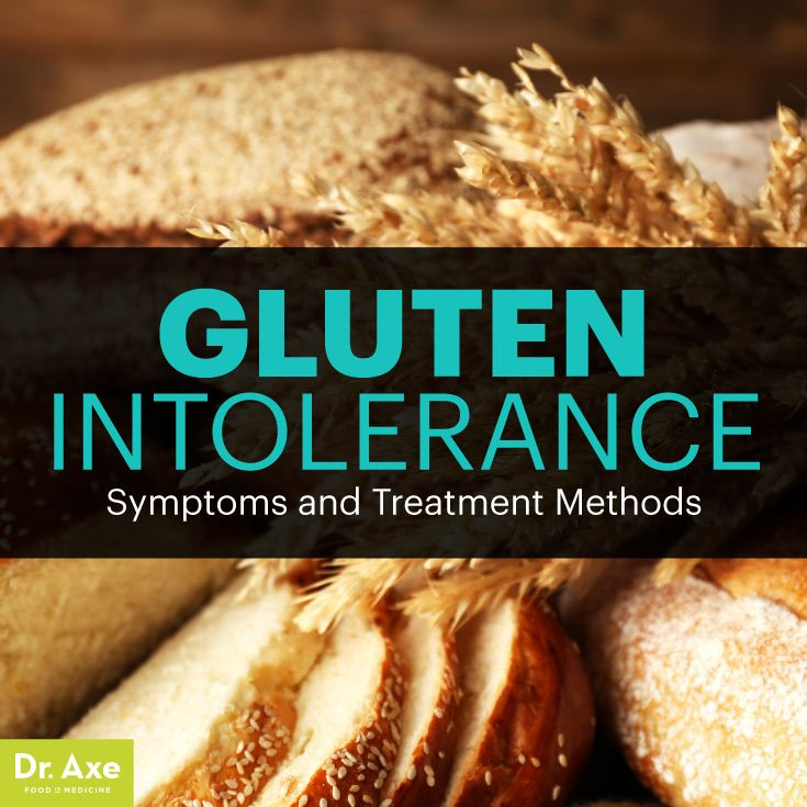 Gluten intolerance symptoms (Dr. Axe) - How to tell if you're gluten intolerant.