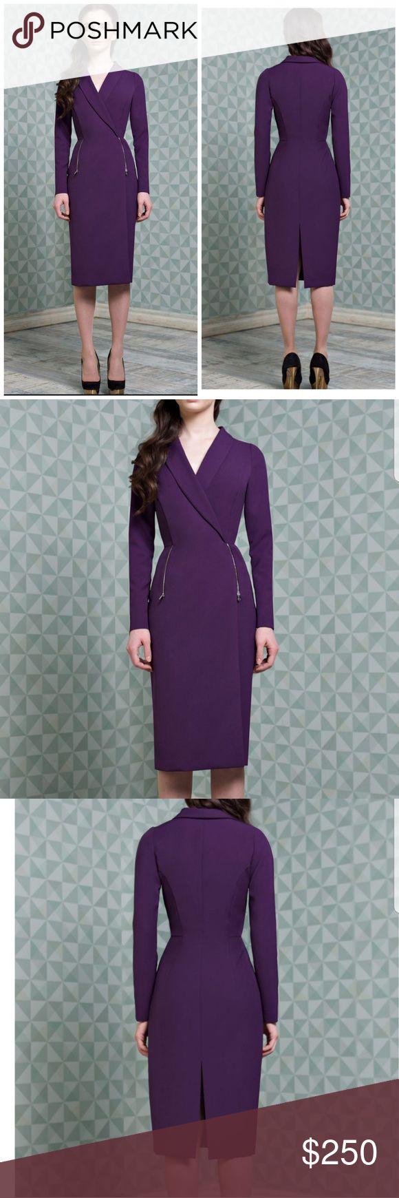 Hamilton Dress, Midi Brand: Modern Frock  Color: Purple  Size: True to size Made…
