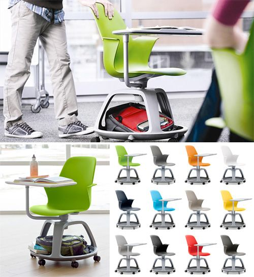 Steelcase Node (Images courtesy Steelcase)  saw this on 60 min. put an engineer to thinking and there is no end to what they will come up with. This totally makes sense!