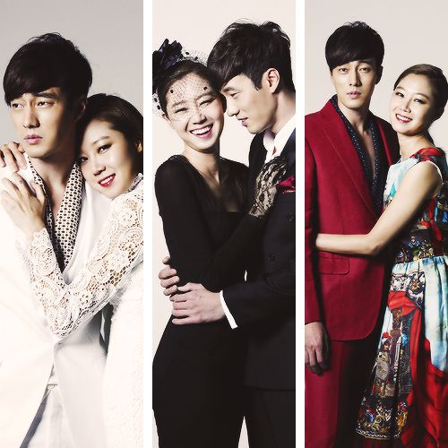 So Ji Sub & Gong Hyo Jin (Master's Sun)--horror/romantic comedy....somehow it works