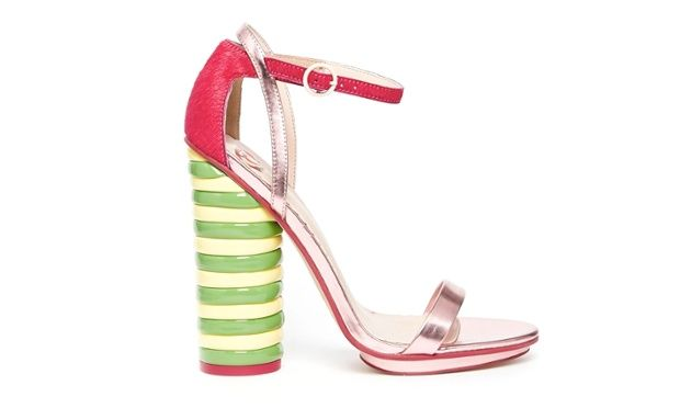 Fashion buy of the day - ASOS X Wall's Twister lolly heels
