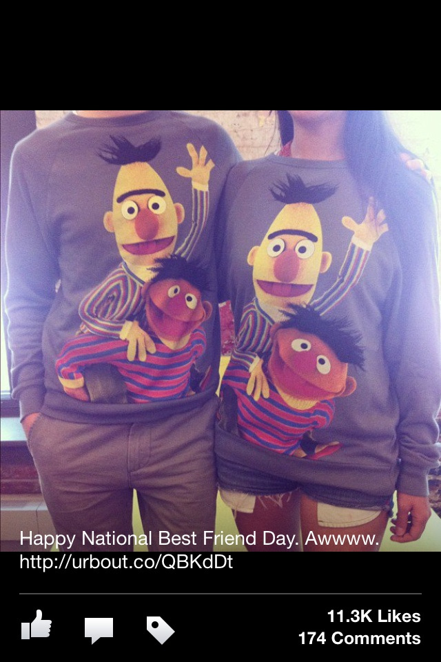 Ernie and Bert Sweaters ☺